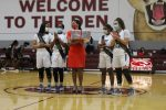 Varsity Lady Cougar Basketball Vs Marshall (Senior Night) (Pics taken by Kempner Yearbook)