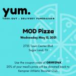 MOD Pizza Fundraiser!