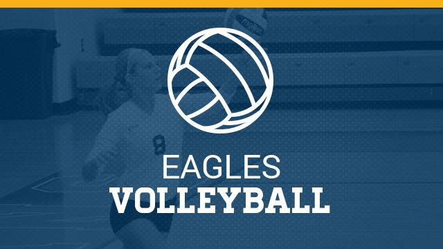 Eagles Volleyball Falls in the Regional Semifinal