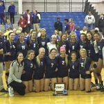 Notre Dame Academy Girls Varsity Volleyball beat Saint Ursula Academy 3-1