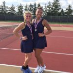 State Bound Tennis Duo!