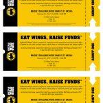 Buffalo Wild Wings Bracket Challenge- NDA v. SUA 2/1