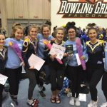 Gymnastics 3rd at Districts; Humbles to State on Bars
