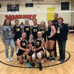8th Grade Gold Volleyball CYO Champs!