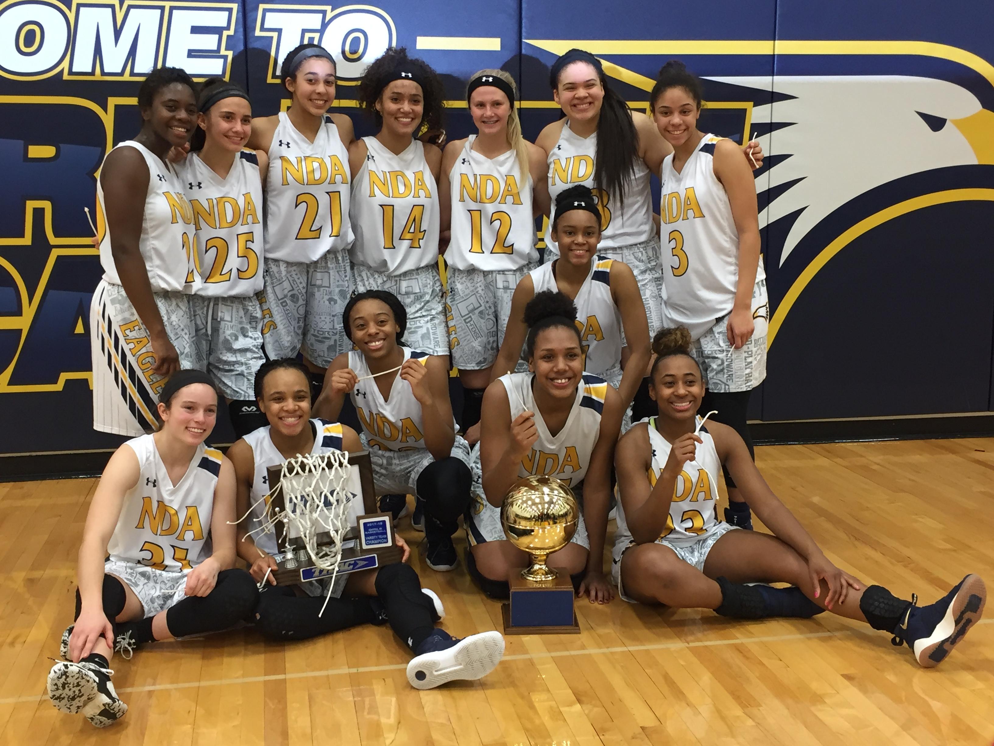 Varsity and JV Basketball TRAC Champions, Freshmen Basketball TRAC Runner-up, Tourney Info
