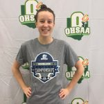 Cassidy Wilson Swims at State Meet!