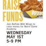Buffalo Wild Wings Challenge- Final Round- Wednesday, May 1st, from 5-9 pm