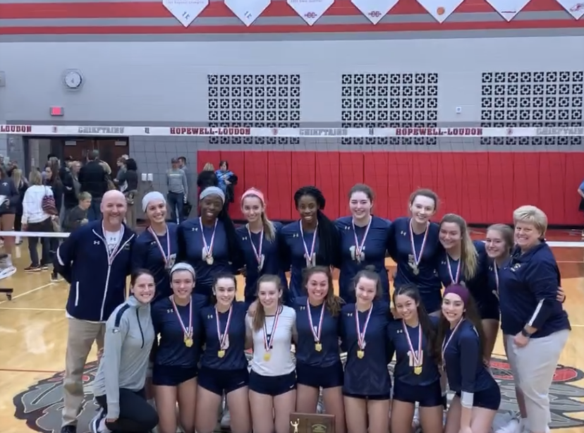 NDA Volleyball: District Champs, On To Regionals!
