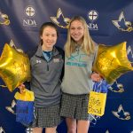Lauryn Mick and Tori Miller Qualify To Indoor Track & Field State Championships!