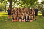 NDA Varsity Cross Country 3rd, JV 2nd at TRAC XC Championship at Walsh Park in Fremont