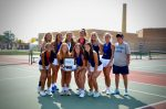 NDA Varsity Tennis Finishes 1st Place at the TRAC Championship Tournament and Wins the TRAC!