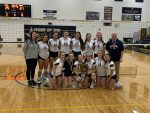 NDA Varsity Volleyball Wins District Championship Over Southview 3-0!
