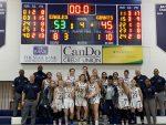 NDA Varsity Basketball Wins District Championship!