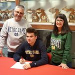 Roeper Senior Signs with Notre Dame