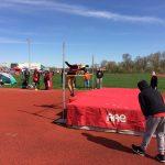 Roeper High School Girls Varsity Track- Alexis Johnson wins long jump