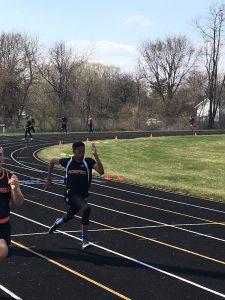 Varsity Track at Webberville