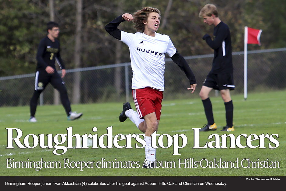 Varsity Soccer Advances to District Finals with a win over Oakland Christian