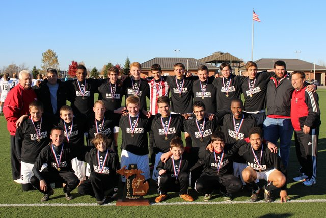 2014 Soccer State Champs Fifth Year Reunion