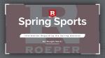 Spring Sport Information