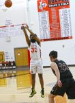 Boys' Basketball Honors Seniors with M.I.A.C. Athletes of the Month