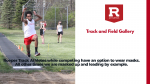Track Gallery and Details on Covid 19 Protocol for Track and Field