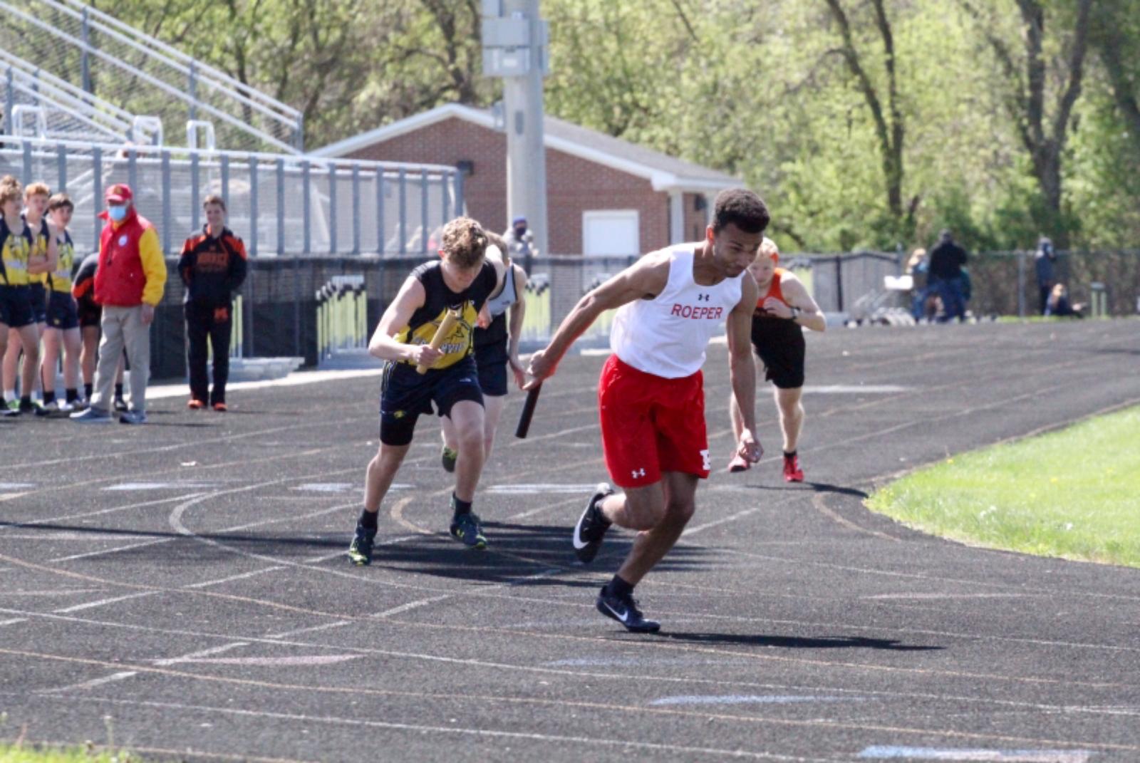 Varsity Track @ Webberville