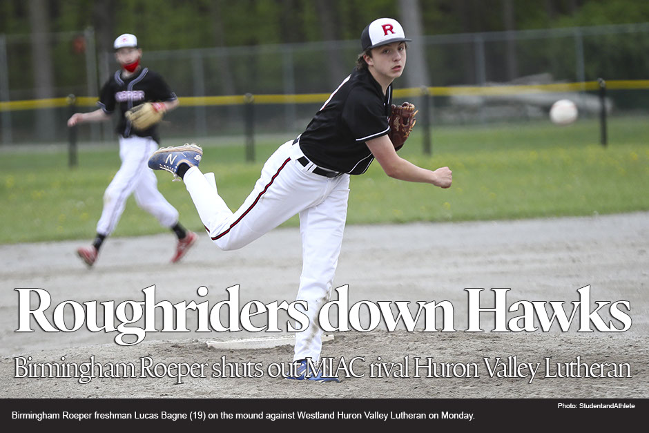 Roeper Baseball Guns Down the Hawks-SAA Lead Article
