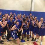 Open Door Christian Schools Girls Varsity Basketball beat Fuchs Mizrachi High School 58-13