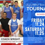 RSVP for the Alumni Basketball Tournament