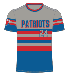 Get Your Official Patriots Baseball Jersey!