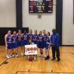 Lady Patriots Get Victory Over Our Lady Of The Elms While McClain Gets 1000th Point!