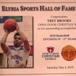Trey Brooks Honored at Elyria Sports Hall of Fame Banquet