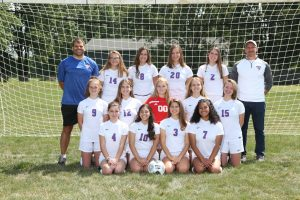 2019 Varsity Girls Soccer Team