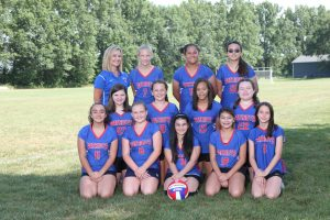 2019 7th Grade Volleyball Team
