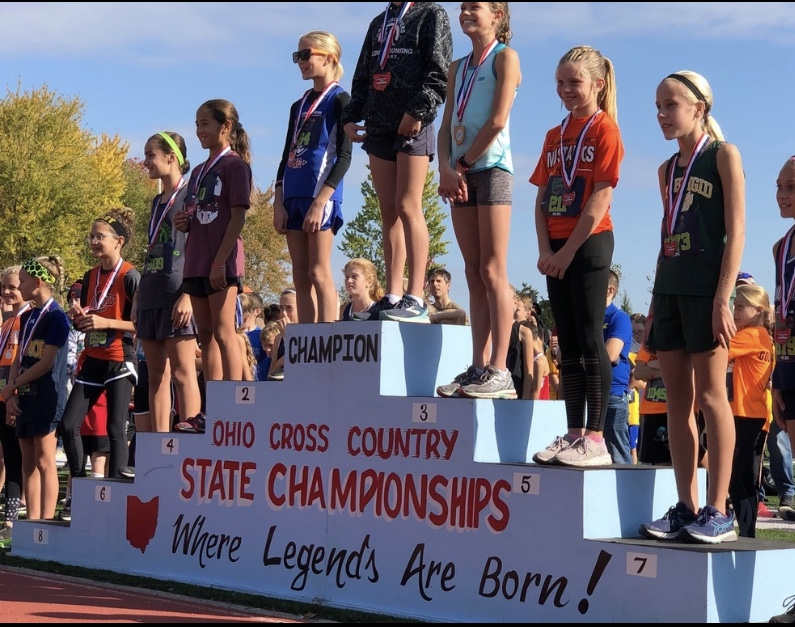 Kaitlyn Reese places 2nd at Ohio Cross Country State Championships