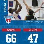 Boys Varsity Basketball beats Northeast Ohio College Preparatory School 66 – 47