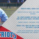 Patriots Senior Spotlight: Alex Lloyd