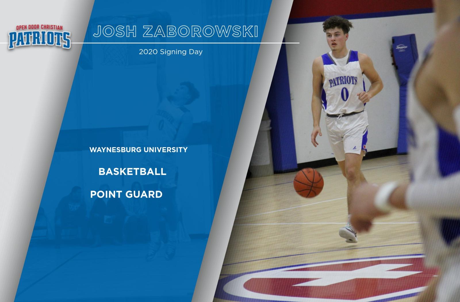 Josh Zaborowski Chooses Waynesburg University