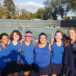 Girls Tennis advances in CIF playoffs