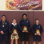 Wrestlers win at Colton Tournament