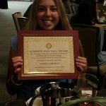 Alexia Angulo wins Riverside SPORT Scholarship