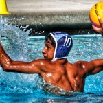 Boys Water Polo defeats Heritage