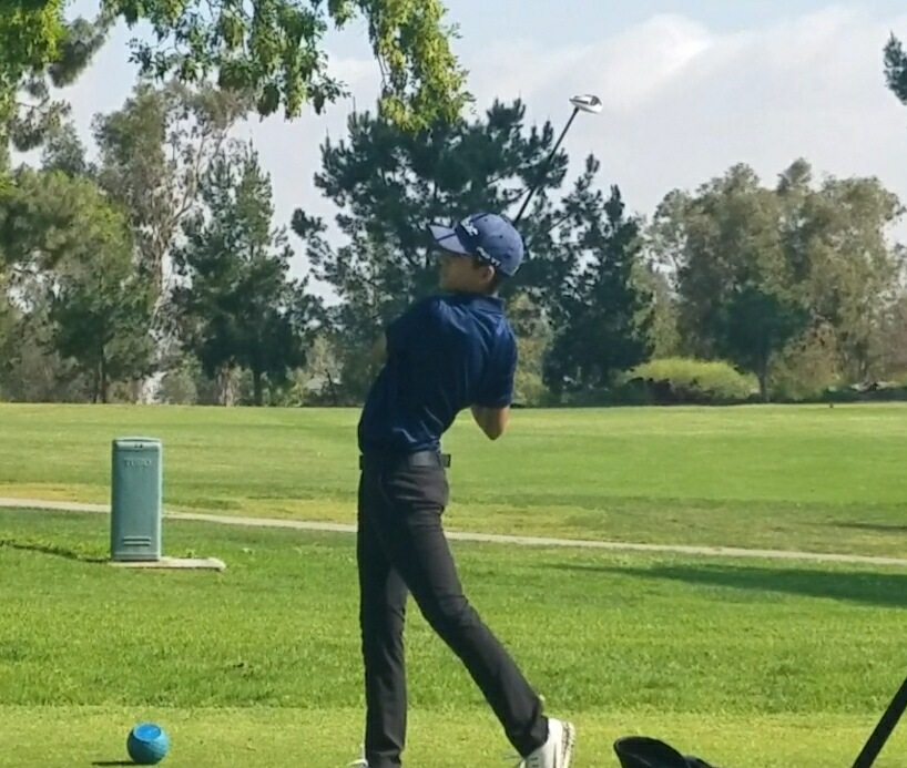 Boys golf at CIF team competition