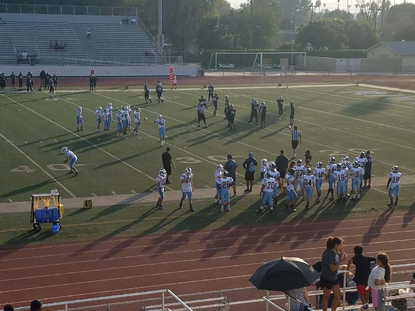 JV football defeats Canyon Springs 26-8