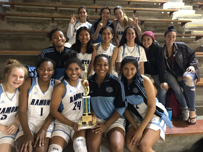 Girls Basketball wins the Azusa Tournament