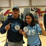 Rebolledo and Wong win Wrestling league titles