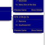 Girls Basketball gets #2 seed in CIF State division 5 playoffs