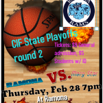 Girls Basketball State CIF round 2