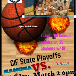 Girls Basketball advances to 3rd round of CIF state playoffs