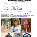 Ramona Athletic Hall of Fame quickly approaching